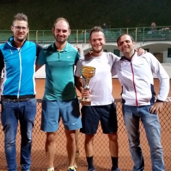 Die Top - 4 der Dorfmeisterschaft 2017
