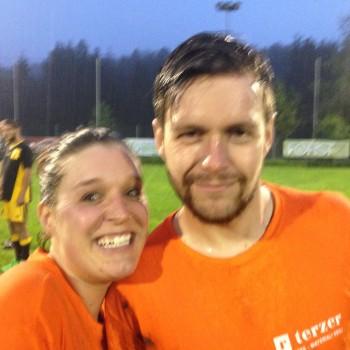 Jassy und David vom 1. FC Schneggntunnel konnten zufrieden sein.