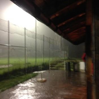 Am Mittwoch regnete es in Strömen...